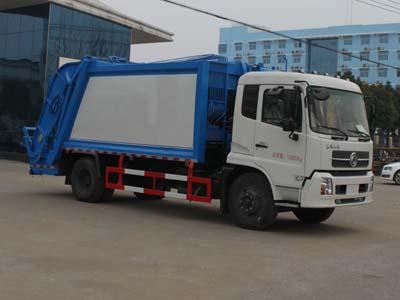 东风天锦压缩式垃圾车(12方)
