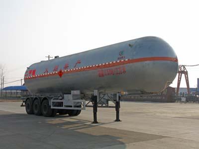 三桥12米二甲醚液化气体运输半挂车