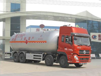 东风天龙前四后八丙烷液化气体运输车