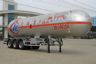 三桥13米丙烯液化气体运输半挂车