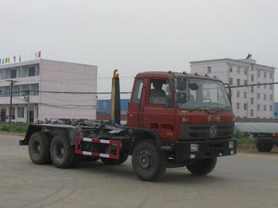 东风双桥16吨车厢可卸式垃圾车