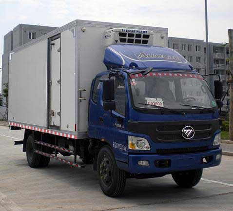 福田欧马可排半6.09米冷藏车
