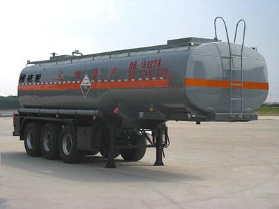 三桥10.5米稀硫酸罐式运输半挂车