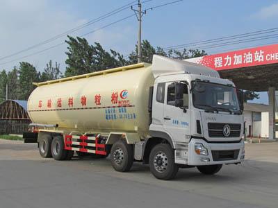 东风天龙前四后八散装水泥运输车