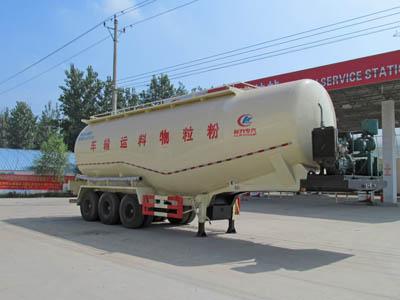 三桥12米低密度粉粒物料运输半挂车