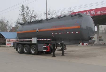 三桥10.1米氢氯酸罐式运输半挂车