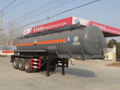 三桥10米浓硫酸罐式运输半挂车