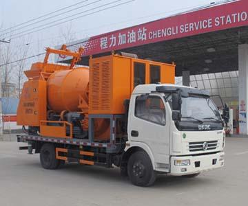 东风大多利卡车载式混凝土泵车