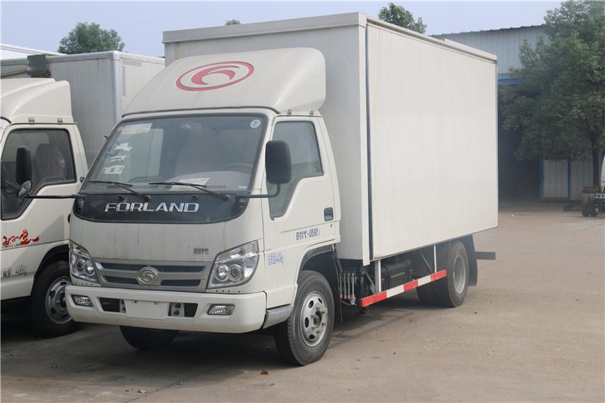 福田时代领航冷藏车4.1米