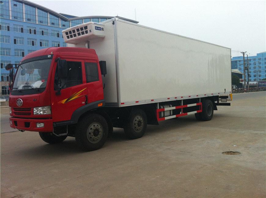 解放冷藏车8.7米