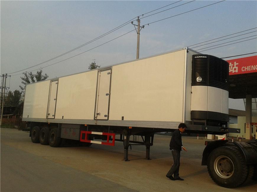 半挂冷藏车15米(美国进口机组)