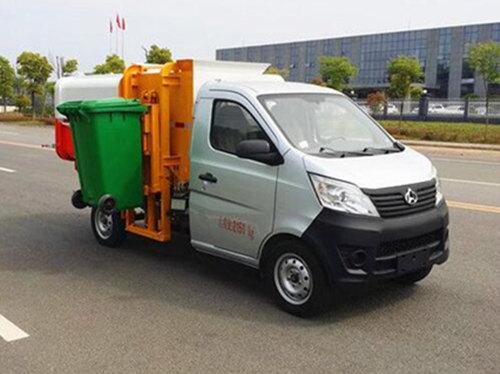 长安挂桶垃圾车(2-3方)汽油车